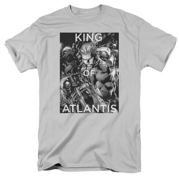 Jla King Of Atlantis Short Sleeve Adult T-Shirt