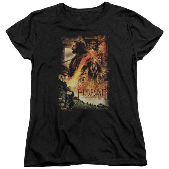 Hobbit Golden Chamber Short Sleeve Womens Tee T-Shirt