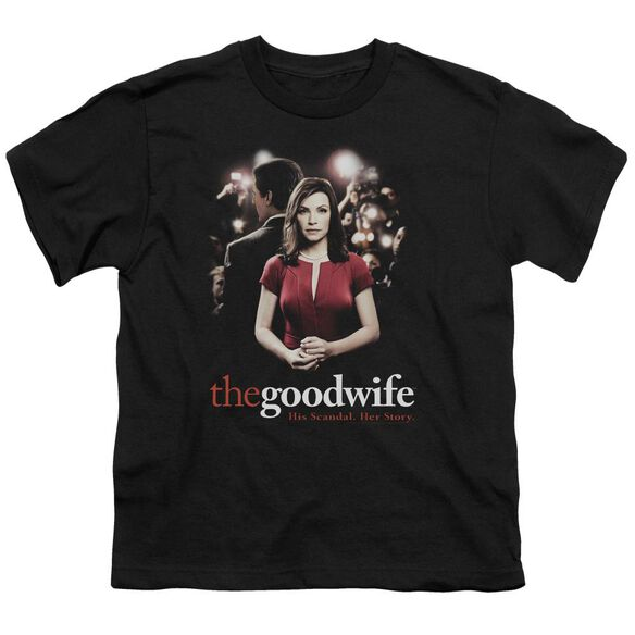 The Good Wife Bad Press Short Sleeve Youth T-Shirt
