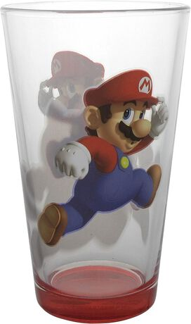 Mario and King Koopa Pint Glass Set