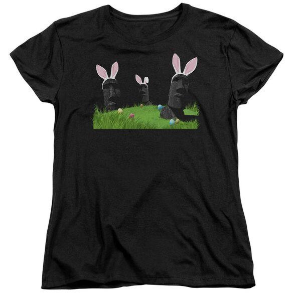 Easter Island Short Sleeve Womens Tee T-Shirt