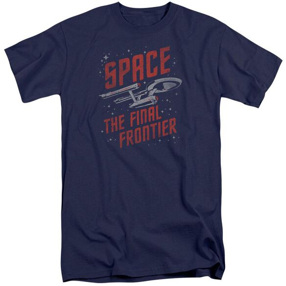 Star Trek Space Travel Short Sleeve Adult Tall T-Shirt