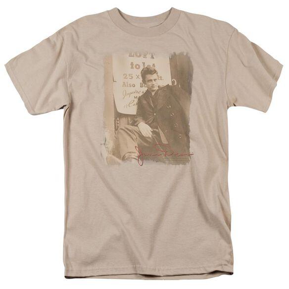 Dean Lot For Rent Short Sleeve Adult Sand T-Shirt
