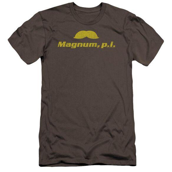 Magnum Pi The Stache Premuim Canvas Adult Slim Fit