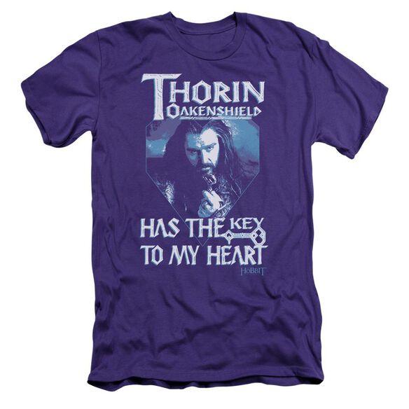 The Hobbit Thorins Key Short Sleeve Adult T-Shirt