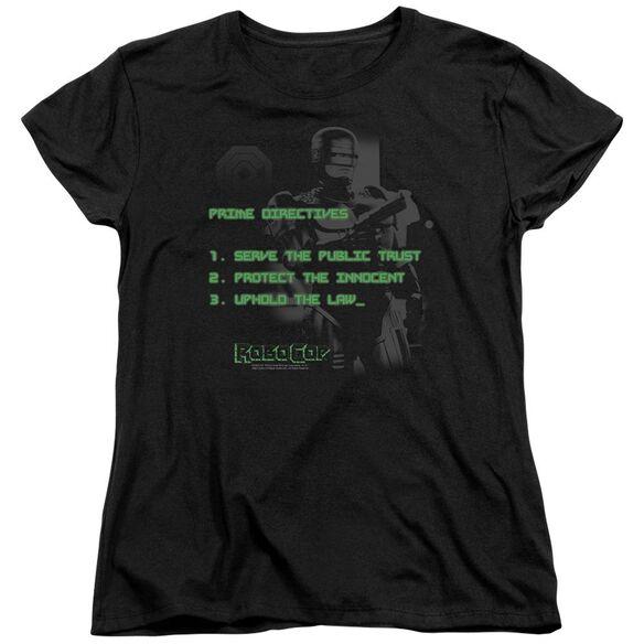 Robocop Prime Directives Short Sleeve Women's Tee T-Shirt