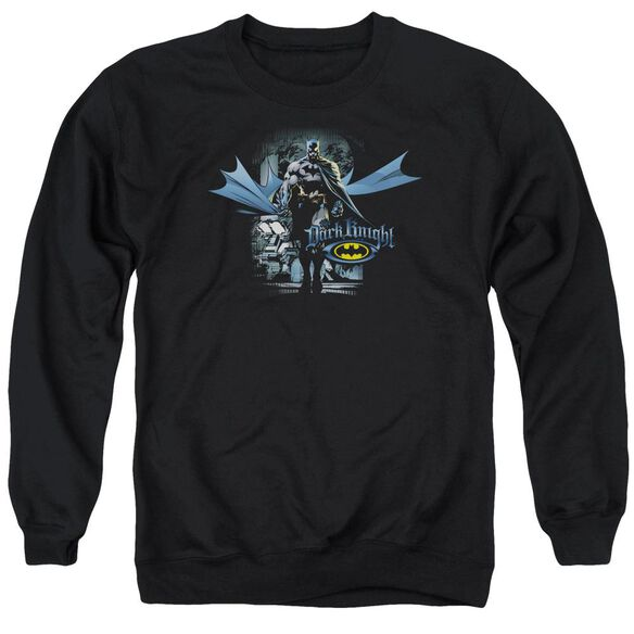 Batman From The Depths Adult Crewneck Sweatshirt