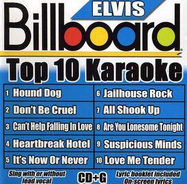 Billboard Karaoke - Billboard Karaoke: Billboard Elvis Top 10 Karaoke