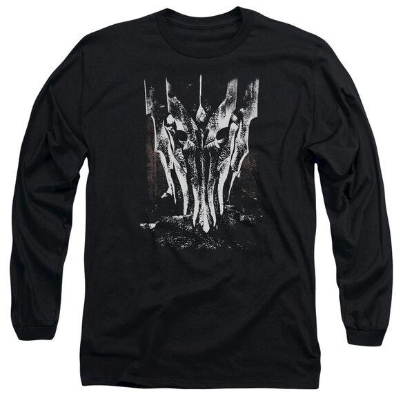 Lor Big Sauron Head Long Sleeve Adult T-Shirt