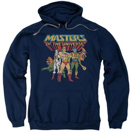 Masters Of The Universe Team Of Heroes Adult Pull Over Hoodie