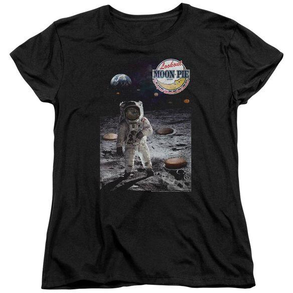 Moon Pie The Truth Short Sleeve Womens Tee T-Shirt