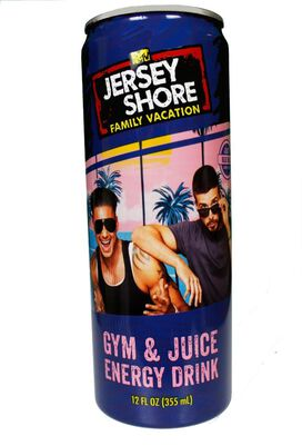Jersey Shore Gym & Juice Energy Drink