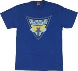 Blue Beetle Shield T-Shirt
