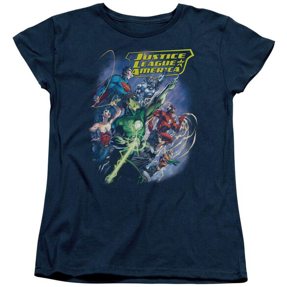 Jla Onward Short Sleeve Womens Tee T-Shirt