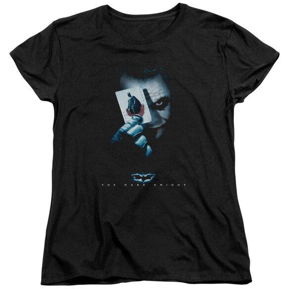 Dark Knight Joker Short Sleeve Women's Tee T-Shirt