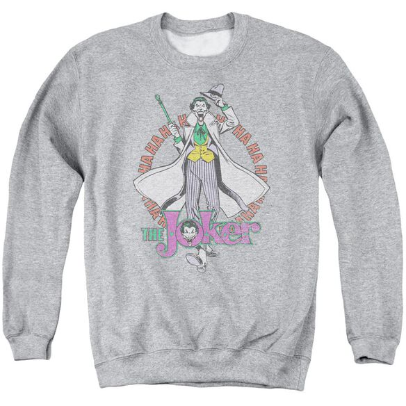 Dc Maniacal Adult Crewneck Sweatshirt Athletic