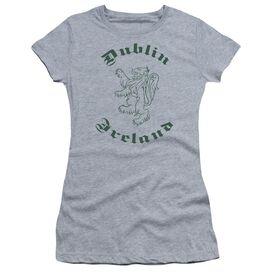 Dublin Ireland Short Sleeve Junior Sheer Athletic T-Shirt