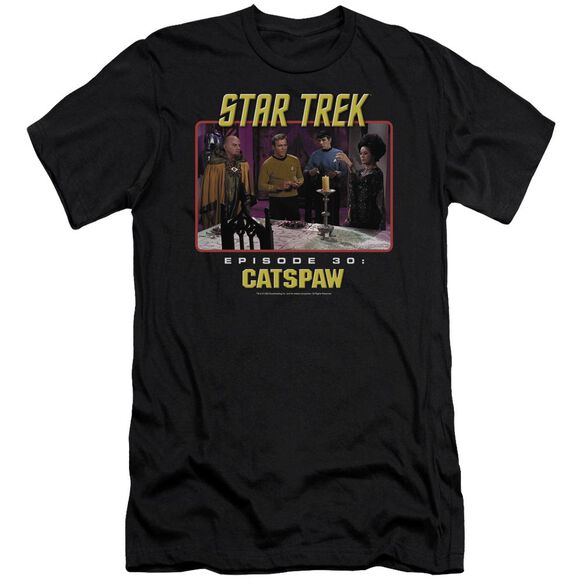 Star Trek Original Cat's Paw Short Sleeve Adult T-Shirt
