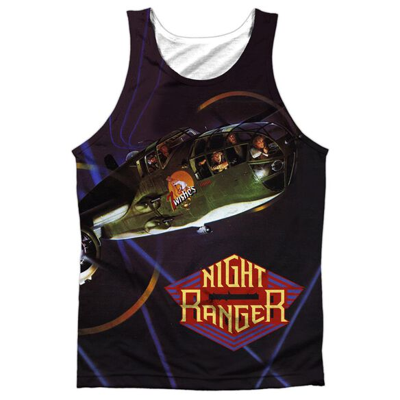 Night Ranger 7 Wishes Adult Poly Tank Top