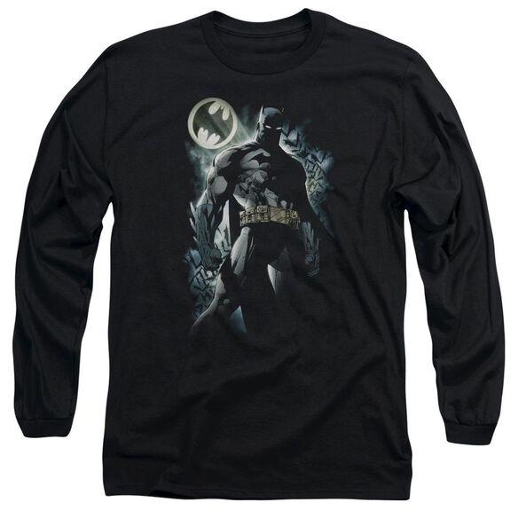 Batman The Knight Long Sleeve Adult T-Shirt