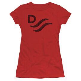 John Wayne River D Short Sleeve Junior Sheer T-Shirt