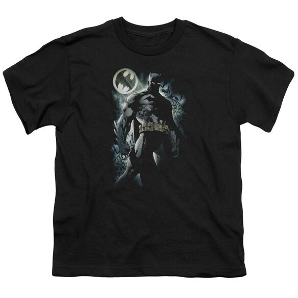 Batman The Knight Short Sleeve Youth T-Shirt