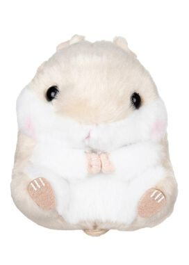 Amuse Brown Hamster Keychain