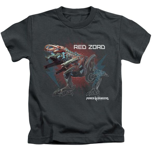 Power Rangers Red Zord Short Sleeve Juvenile T-Shirt