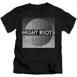 Night Riots Title Short Sleeve Juvenile T-Shirt