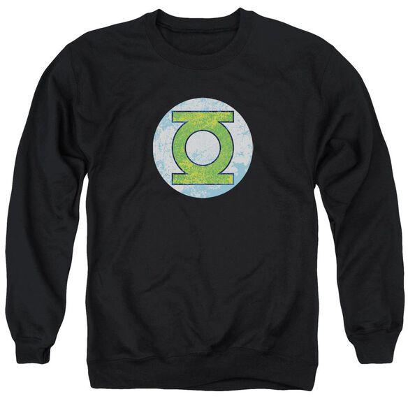 Dco Gl Neon Distress Logo Adult Crewneck Sweatshirt