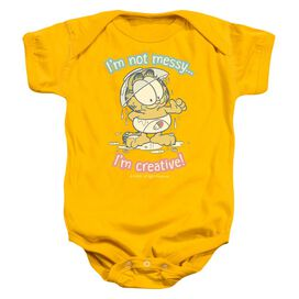 Garfield I'm Creative Infant Snapsuit Gold Md