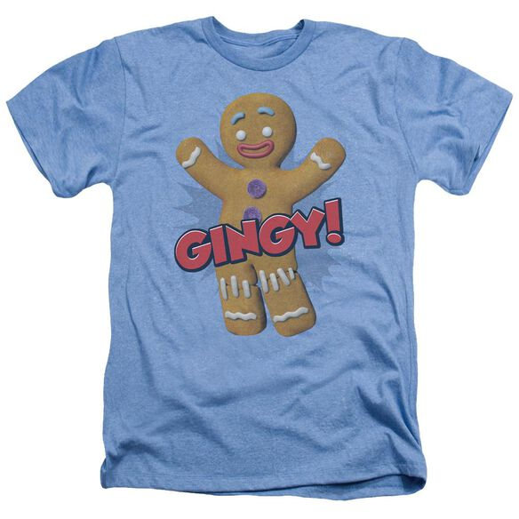 Shrek Gingy Adult Heather Light