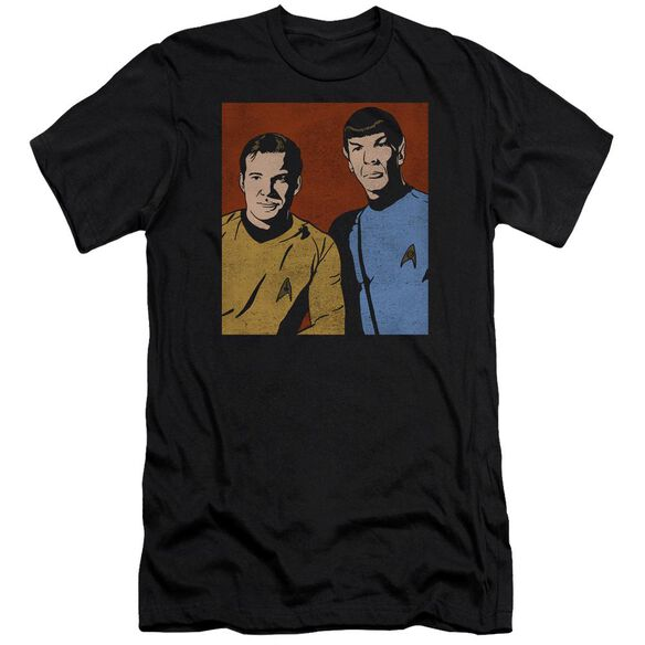 Star Trek Friends Premuim Canvas Adult Slim Fit