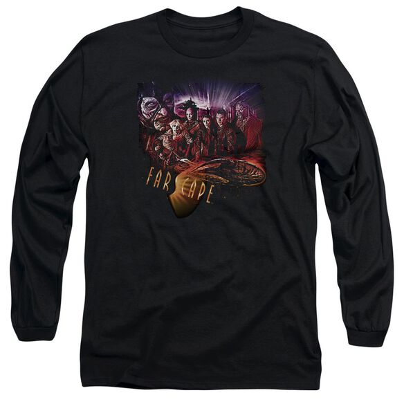 Farscape Graphic Collage Long Sleeve Adult T-Shirt