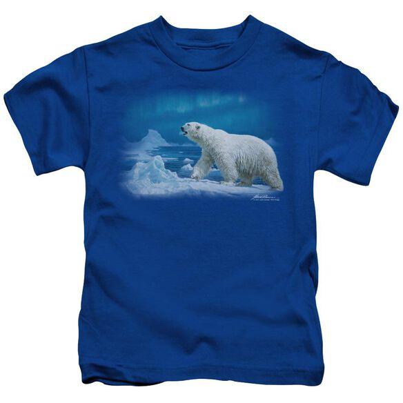 Wildlife Nomad Of The North Short Sleeve Juvenile Royal Blue T-Shirt
