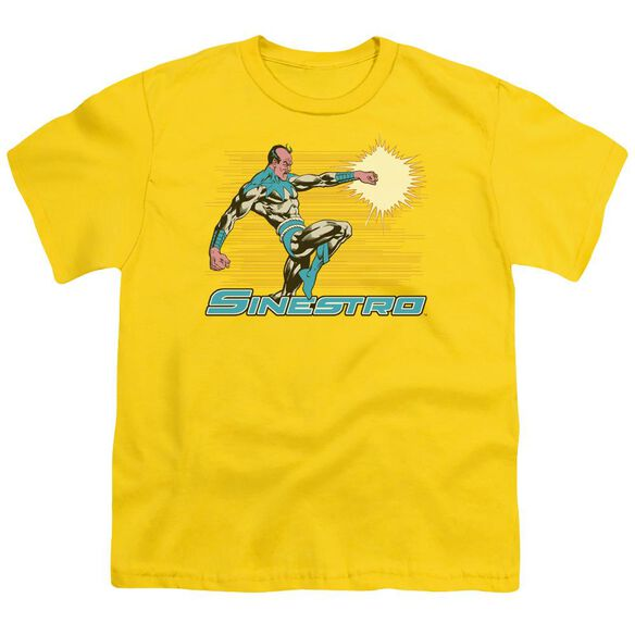 Dc Sinestro Short Sleeve Youth T-Shirt