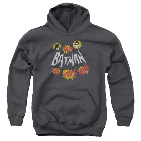 Batman Classic Tv Sound Effects Youth Pull Over Hoodie