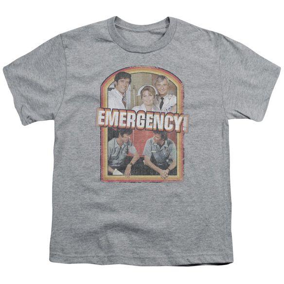 Emergency Retro Cast Short Sleeve Youth Athletic T-Shirt