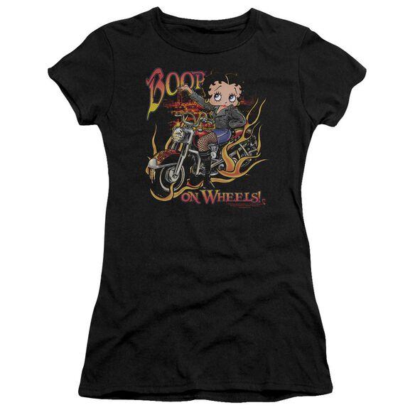 Betty Boop On Wheels Premium Bella Junior Sheer Jersey