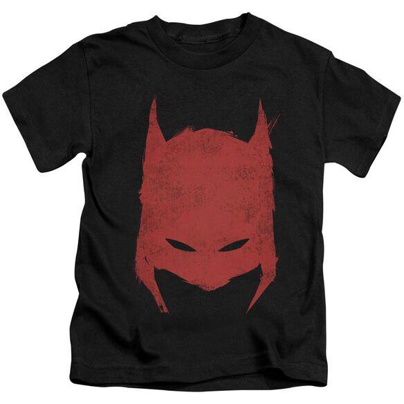 BATMAN HACKED & SCRATCHED - S/S JUVENILE 18/1 - BLACK - T-Shirt