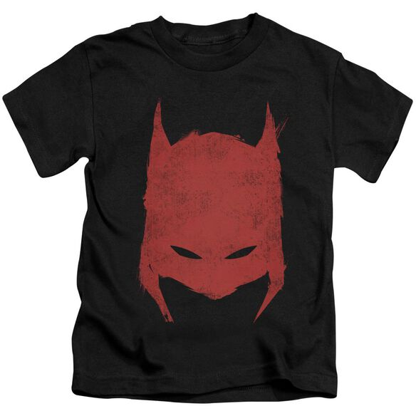 Batman Hacked & Scratched Short Sleeve Juvenile Black Md T-Shirt