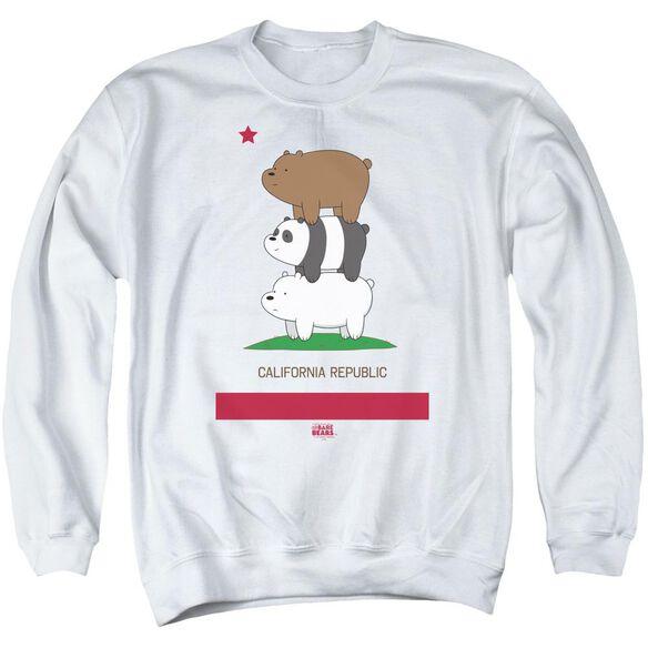 We Bare Bears Cali Stack Adult Crewneck Sweatshirt