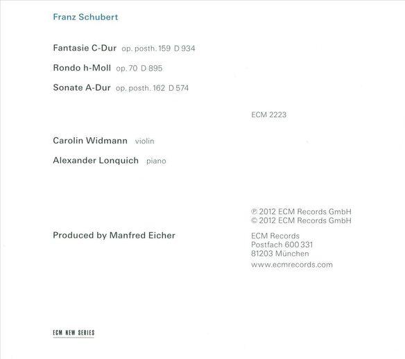 Franz Schubert (Ocrd)