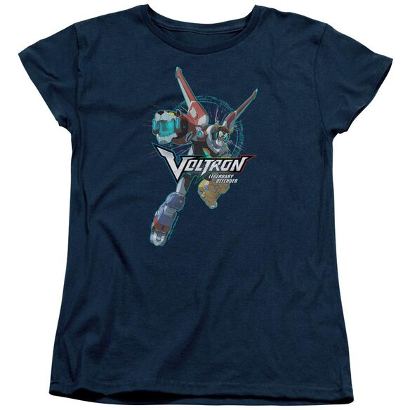Voltron Defender Pose Short Sleeve Womens Tee T-Shirt
