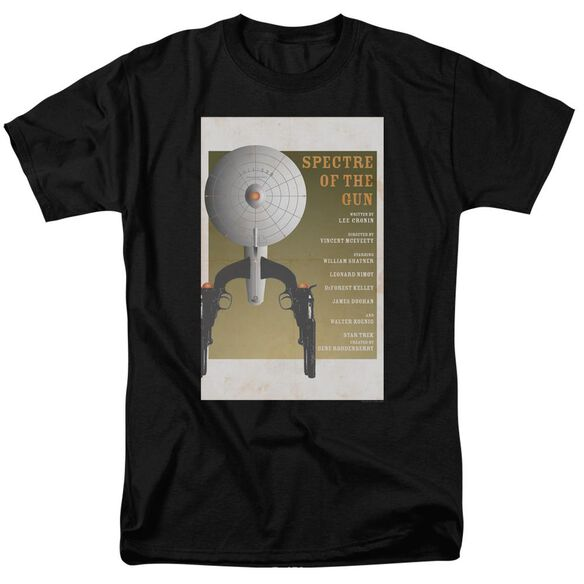 Star Trek Tos Episode 61 Short Sleeve Adult Black T-Shirt