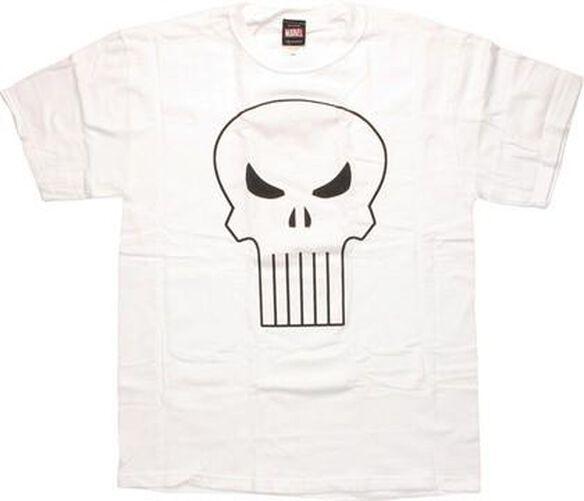 Punisher Glitter Skull T-Shirt