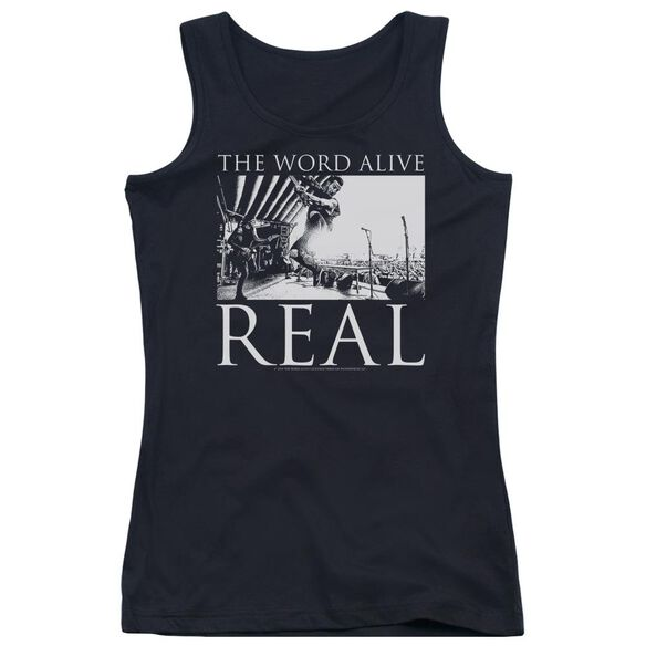 The Word Alive Live Shot Juniors Tank Top