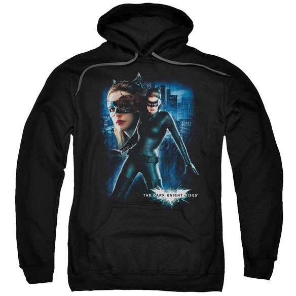 Dark Knight Rises Catwoman Adult Pull Over Hoodie