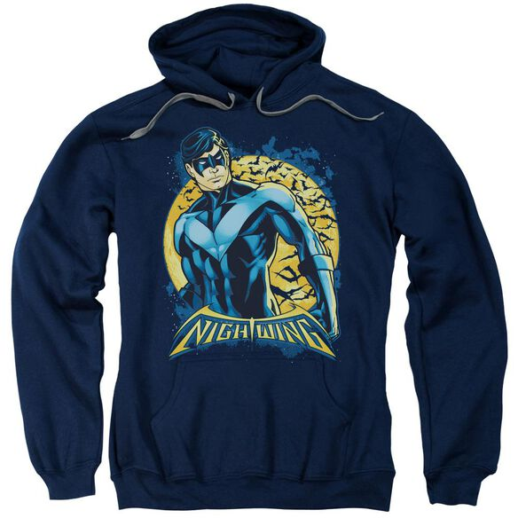 Batman Nightwing Moon Adult Pull Over Hoodie