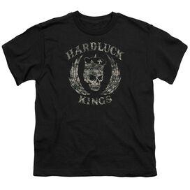 Hardluck Kings Camo Logo Short Sleeve Youth T-Shirt